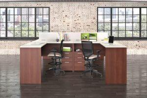 2 L Desks