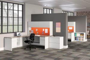 Open Cubicle Desk