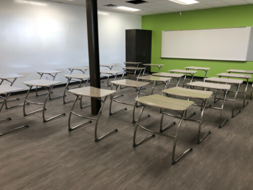 Classroom Sleek Desks