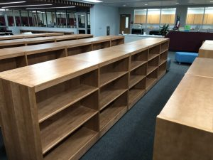 Library Book Shelves